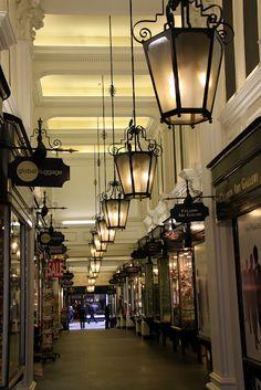 Burlington Arcade-- been there! Love the beadles