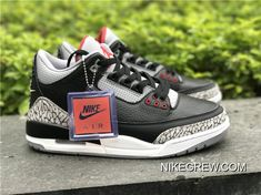 "best service d18ea c6269 Best Air Jordan 3 OG ""Black Cement"""