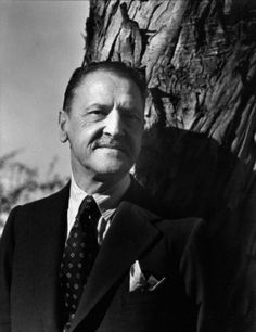 William Somerset Maugham (1874-1965) ; photo taken by Imogen Cunningham in 1935