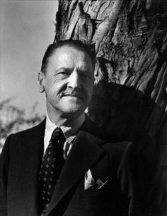 William Somerset Maugham (1874-1965) ; photo taken by Imogen Cunningham in 1935