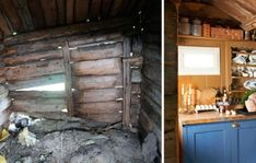 gammel støl Restoration, Cabin, Norway, Ideas, Refurbishment, Cottage, Thoughts, Cabins