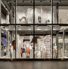 PKZ Women flagship store by Schweitzer Group, Zurich – Switzerland »  Retail Design Blog
