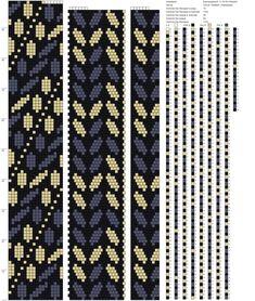 18 around bead crochet rope pattern