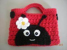 Ladybug Purse. $15.00, via Etsy.