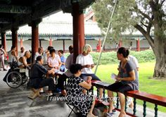 Natives in Temple of Heaven