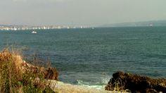 Lisboa ao fundo e do outro lado a outra margem