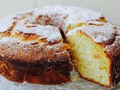 Lemon Yoghurt Cake Recipe - 1 cup sugar only - add more lemon juice and rind - optional use passion fruit Lemon Dessert Recipes, Baking Recipes, Sweet Recipes, Cake Recipes, Healthy Lemon Recipes, Food Cakes, Cupcake Cakes, Mini Cupcakes, Lemon Yogurt Cake