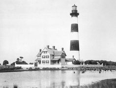 Morris Island Lighthouse, South Carolina at Lighthousefriends.com