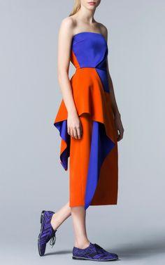 Roksanda Ilincic Pre-Fall 2014 Trunkshow Look 6 on Moda Operandi