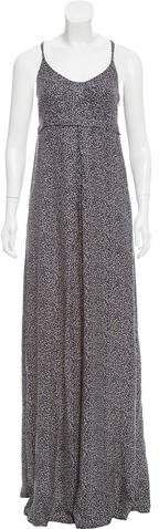 Balenciaga Printed Maxi Dress#ad
