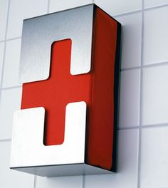 This stylish stainless-steel first aid box comes from Radius in Germany; it comes in two sizes.