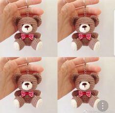 Watch This Video Incredible Crochet a Bear Ideas. Cutest Crochet a Bear Ideas. Beau Crochet, Crochet Mignon, Crochet Teddy, Crochet Bear, Crochet Patterns Amigurumi, Cute Crochet, Beautiful Crochet, Crochet Crafts, Crochet Dolls