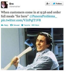Pull this move: | 31 Ways To Be The Worst Person At Panera Bread