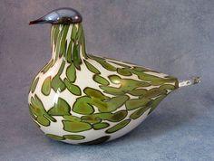 Oiva Toikka, SSKK, Havina, limited numbered edition of 300 Nordic Design, Scandinavian Design, Ceramic Decor, Ceramic Art, Importance Of Art, Fine Art Drawing, Art Of Glass, Glass Birds, Finland