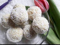 Éhezésmentes karcsúság Szafival - Szafi Free vegán Raffello ízű desszertgolyó