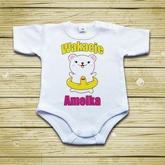 #Wakacje #bodziak #ubranka Onesies, Kids, Baby, Young Children, Boys, Babies Clothes, Children, Baby Humor, Infant