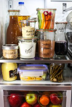 Handy tip for the holidays: Use a non-toxic, erasable wine glass writer to label fridge items