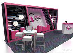 Neon Crow 10×20 | Skyline Exhibit Gallery : Trade Show Exhibit Designs and Ideas!