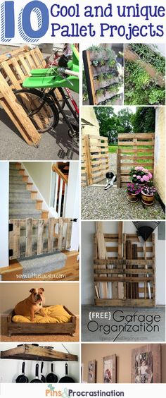 Use Pallet Wood Projects to Create Unique Home Decor Items – Hobby Is My Life Pallet Crates, Wooden Pallet Furniture, Wooden Pallets, Pallet Boards, Diy Pallet Projects, Wood Projects, Woodworking Projects, Furniture Projects, Woodworking Plans