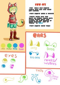 See-Uz reference sheet (open species) by R-bunnyAdopts on DeviantArt
