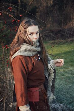 One of Rhodas new outfits. She shows a Westslavic woman from the 9th century…
