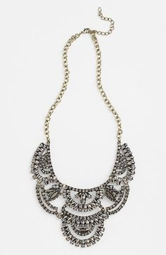 Tildon Stone Statement Necklace available at #Nordstrom