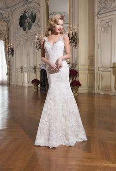 Lindos vestidos de novias   Coleccion Justin Alexander