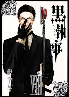 Black Butler ~~~ William T. Spears ::: Fear a shinigami armed with a set of pruners.