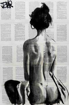 Loui Jover is an Australian based artist with a unique style of art. Australian Painters, Illustration Art, Illustrations, Guache, Art Graphique, Erotic Art, Love Art, Female Art, Collage Art