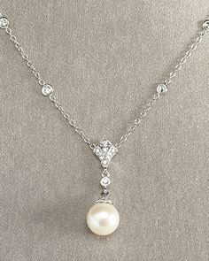 Penny Preville Pearl Pendant Necklace