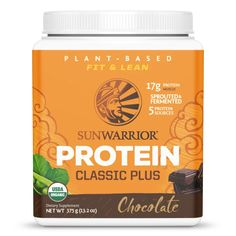 Organic Certified Classic Plus builds on Sunwarrior's original rice protein by adding in the amino acid balancing effects of peas, chia seeds, quinoa ...