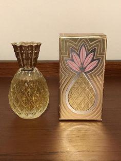 Vintage Avon Pineapple Perfume Bottle