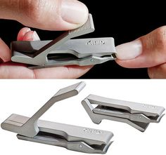 How can you make nail clippers look SO awesome!
