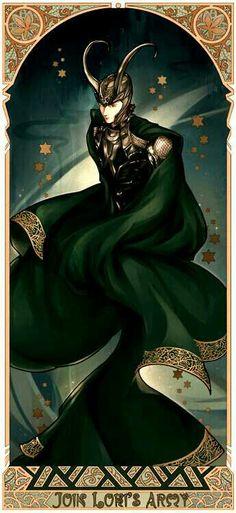 Loki fan art.