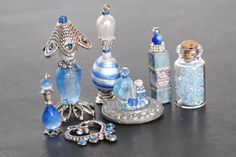 Dollhouse Miniature Bottles Perfume Vanity by Purpose4Everything