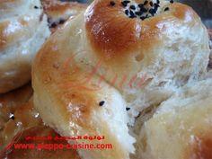 معروك 2 Aleppo, Syria, Bagel, Breads, Sweet Tooth, Cooking Recipes, Kitchen, Desserts, Food