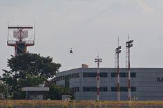 Vista parcial da obra do terminal internacional de cargas da Tead Brasil no aeroporto Leite Lopes