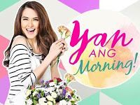Yan Ang Morning May 2 2016   Yan Ang Morning May 2 2016 full episode replay. Yan Ang Morning! (lit. That's the Morning) is an Filipino lifestyle-morning talk show to be broadcast by GMA Network. Hosted by Marian Rivera with Boobay as her co-host Rivera will share her life experiences as a wife a homemaker and a mom. The show is set to air on May 2 2016 at 10:45 am on the network's morning line-up and also to be aired worldwide via GMA Pinoy TV. This will serve as the comeback of morning talk…