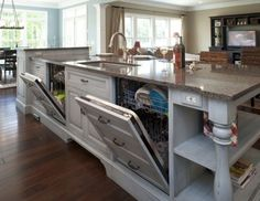 Using Houzz: Create a Home To-Do List - Love this idea (and the dishwasher that looks like cabinets!)