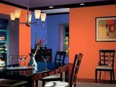 I like this color for dining room