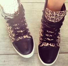 Nef from Twin Fashion in the Hell Cat Sneaker (http://www.nastygal.com/by-nasty-gal-shoes/hell-cat-sneaker) #ShoeCult