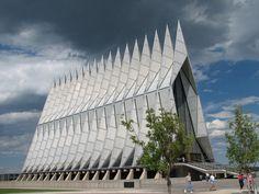 USA Air Force Academy Cadet Chapel