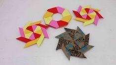 Origami Ninja Stern falten   modularen Stern selber machen   Spielzeug &...