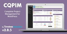 If you're working on projects and run a WordPress site, then the CQPIM WordPress Project Management Plugin can literally take all of the tools that you use and combine your processes into a single application. CQPIM is a fully featured WordPress Proj Project Free, After Effects Projects, Marketing Software, Website Themes, Blogger Templates, Templates Free, Premium Wordpress Themes, Wordpress Plugins, Project Management
