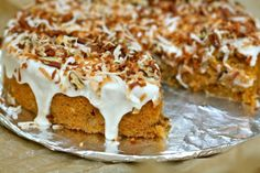 A Bitchin' Kitchen: Sweet Potato Pecan Coconut Cake