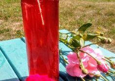 Rózsaszörp recept foto