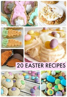 20 Easter recipes-posted by Jen Hadfield...This week's the time for some Easter cooking, Easter baking and Easter treats. Just in time for these great ideas …