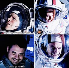 That awkward moment when your entire crew is team iron man but you're actually Bucky Barnes