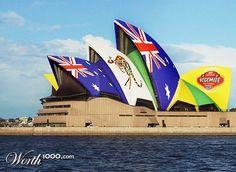 Sydney Opera House by Worth 1000 user jimstar  Photomontage, Opera House, Sydney, Illustration Art, Building, Photography, Travel, Photograph, Viajes