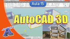 Curso de AutoCAD 3D - Aula 15/25 - Planos de Corte - Autocriativo